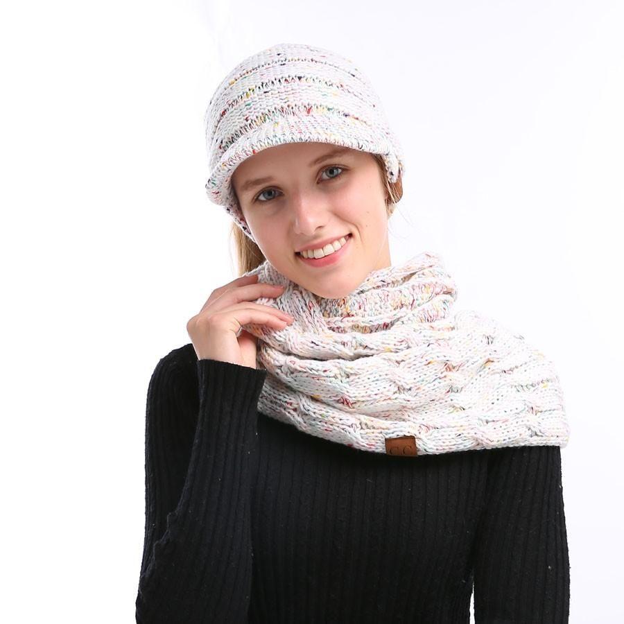 Holiday Beanie Hat   Scarf Set  b778209140b4