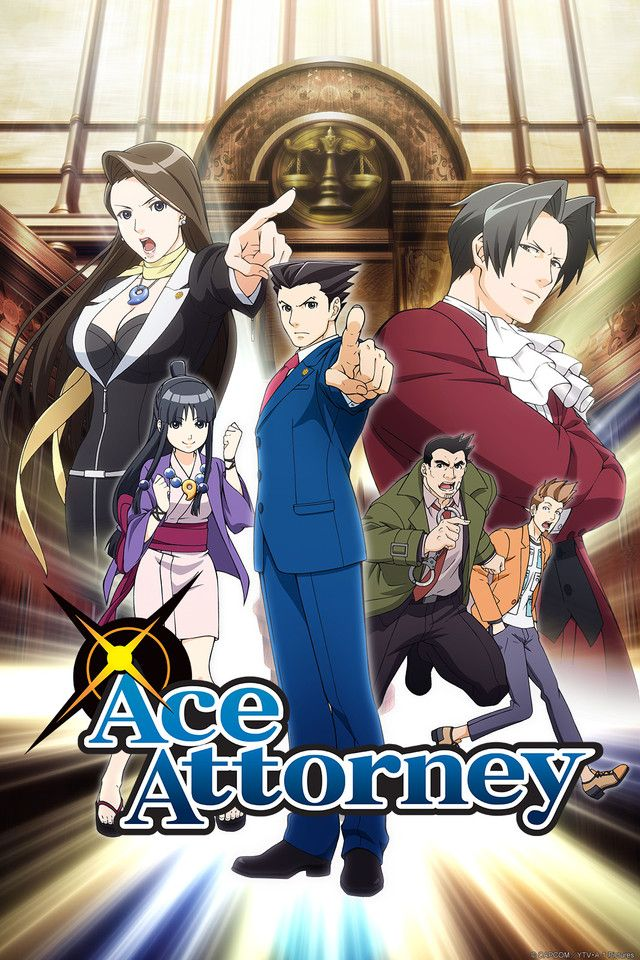 Adapted From The Popular Video Game Franchise Ace Attorney