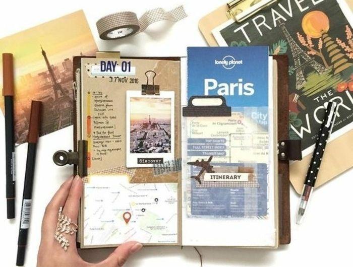 Comment faire un carnet de voyage? Idées inspirantes en 60 ...