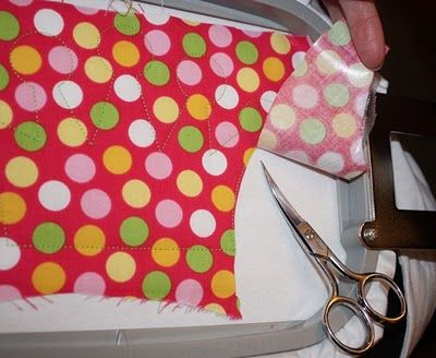 secret to a better appliqué. I am anxious to try this.