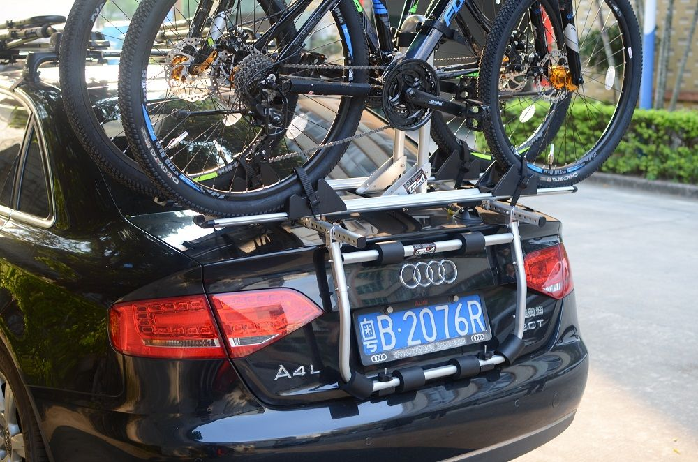 Tola Three Box Sedan Bicycle Carrier Bike Carrier Luggage