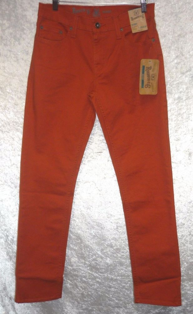 3912a9e8fa1 Roebuck co Mens Skinny Jeans slim fit straight leg solid size 30, 34, 38