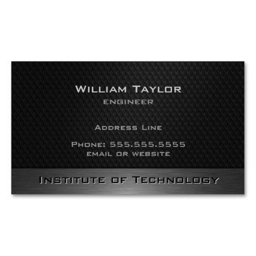 Metallic elegance with qr code business card template qr code metallic elegance with qr code business card template reheart Choice Image