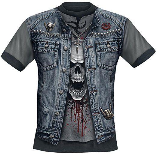 Spiral Thrash Metal T-Shirt multicolor S