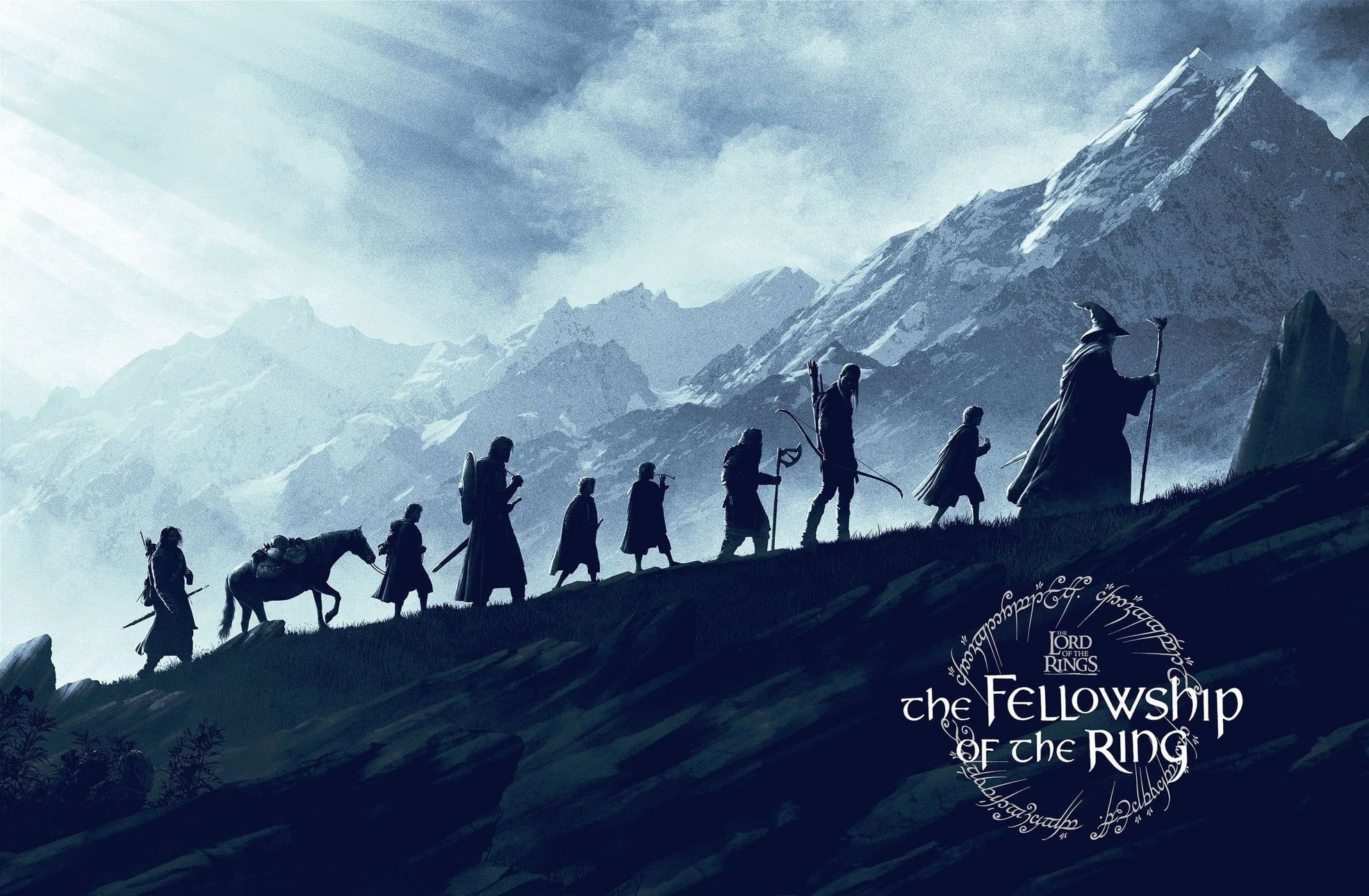 Movies Fantasy Art The Lord Of The Rings The Fellowship Of The Ring Artwork Mountains 20 Fellowship Of The Ring Lord Of The Rings Tattoo Lord Of The Rings