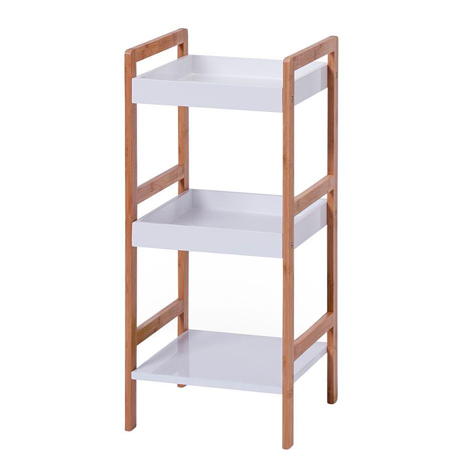 regal alvin i bambus wei lackiert zeller jetzt bestellen unter. Black Bedroom Furniture Sets. Home Design Ideas
