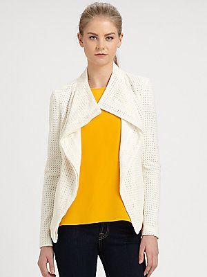 Addison - Rivington Cotton Eyelet Jacket - $86.26