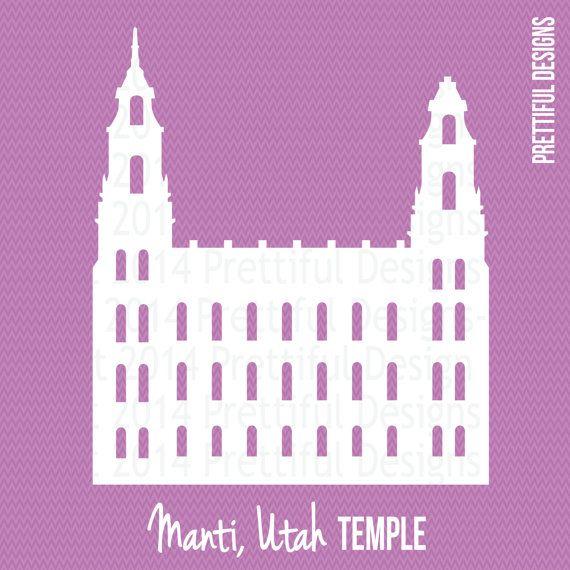 manti utah temple lds mormon clip art png eps svg vector