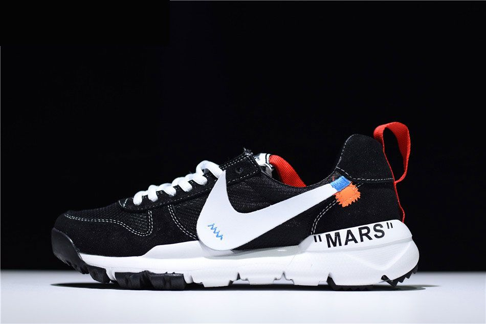 cc036d4c52 2018 Mens and WMNS Off-White x Nike Mars Yard 2.0 Black White in ...