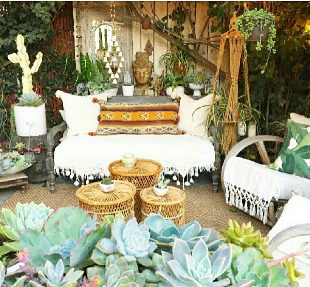 A quiet spot to meditate meditation pinterest for Urban boho style furniture
