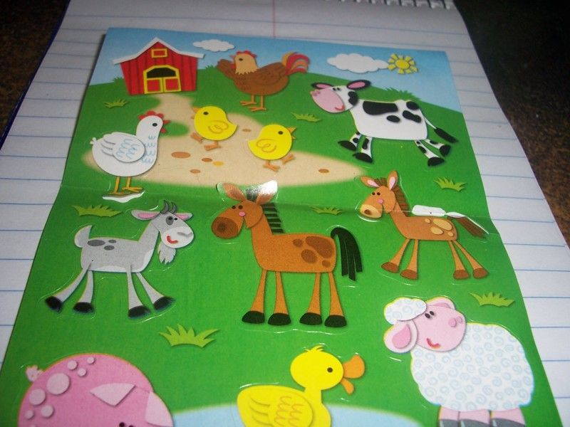 Cute Farm Stickers