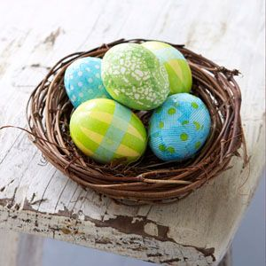 Patterned Eggs