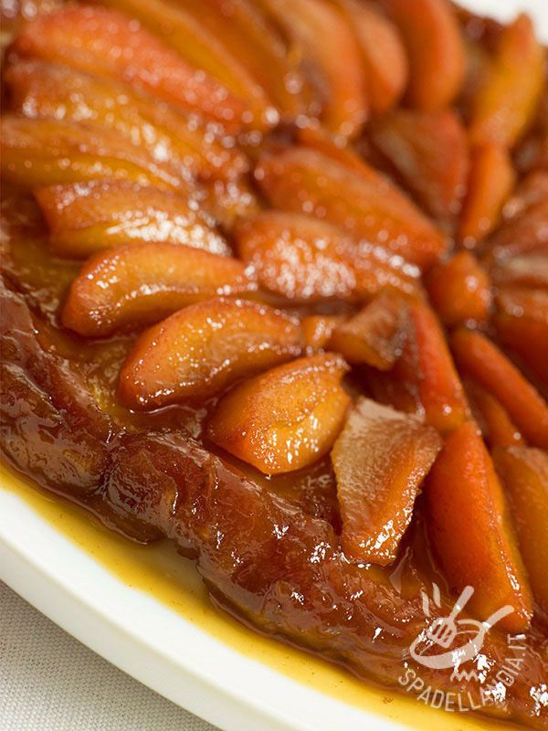 Tarte tatin di mele  Ricetta nel 2019  Dolci  Tarte Tatin Tart e Cake