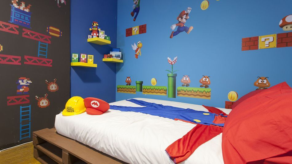 This Super Mario-themed Airbnb is every Nintendo nerds dream