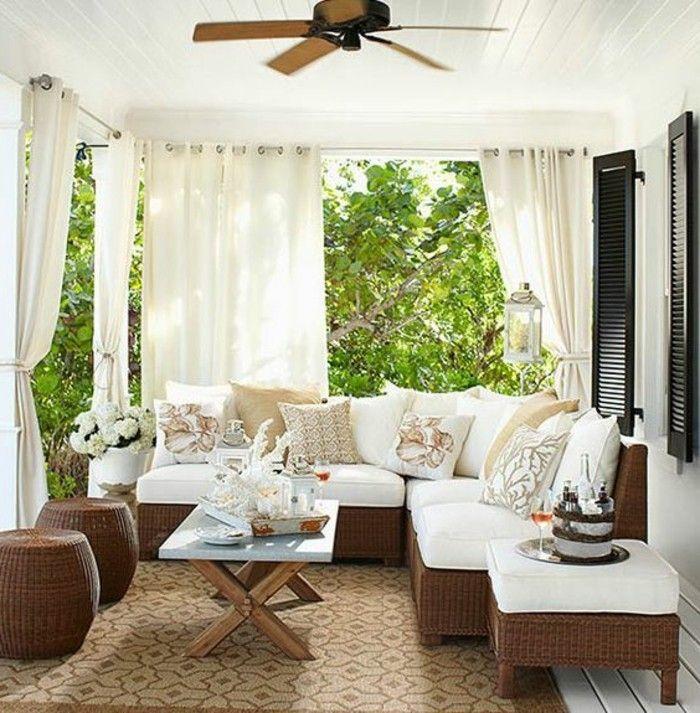 Bildergebnis für trennwand stoff terrasse | Balkon | Pinterest