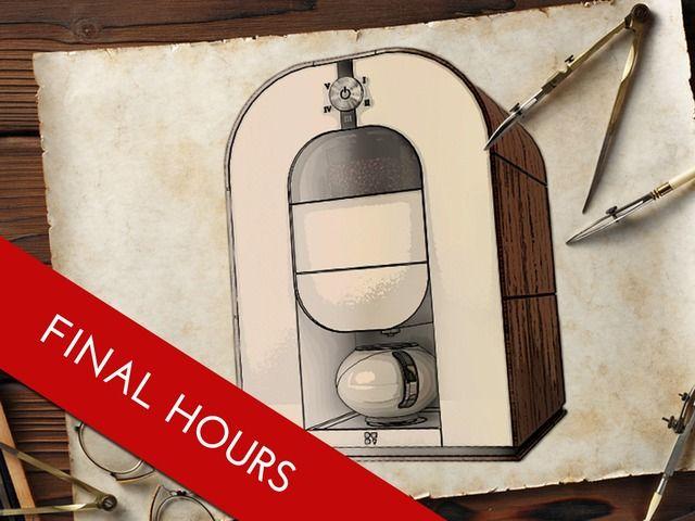 World's first roast-grind-brew coffee machine by Bonaverde Coffee Changers — Kickstarter