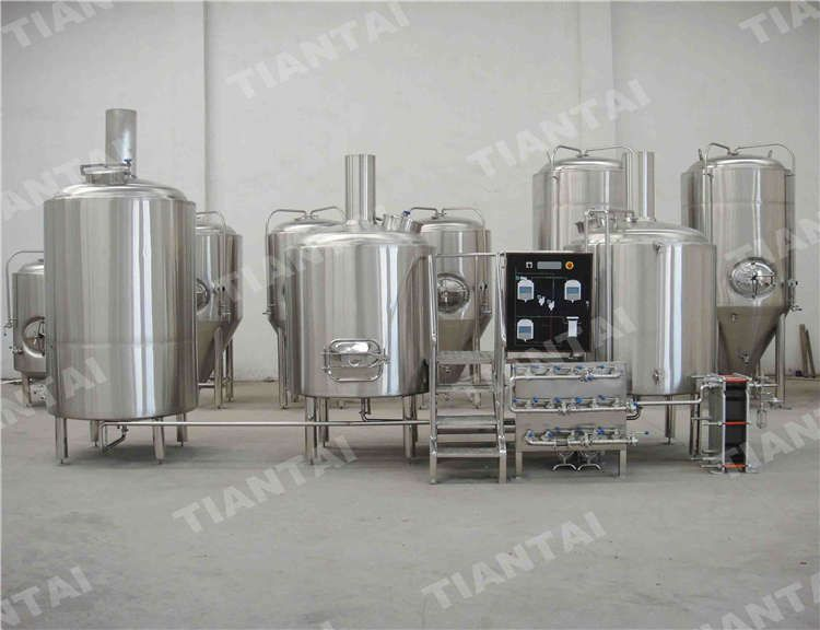 10bbl Brewhouse With Hot Water Tank Brewhouse Beer Equipment Chinese Beer