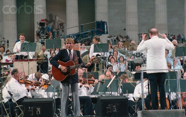 John Denver Performs with the Boston Pops  1985
