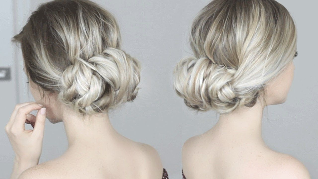 Easy Twisted Updo Hairstyle | Updos Loose | Pinterest | Updo, Updos ...