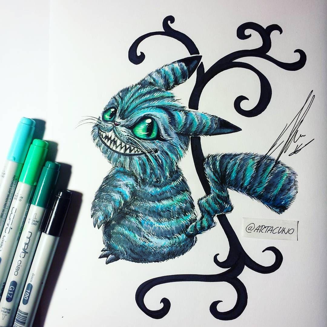 картинки чеширский кот эскиз москвой действительно есть