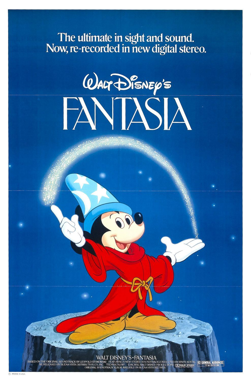 Fantasia is a 1940 American animated film produced by Walt