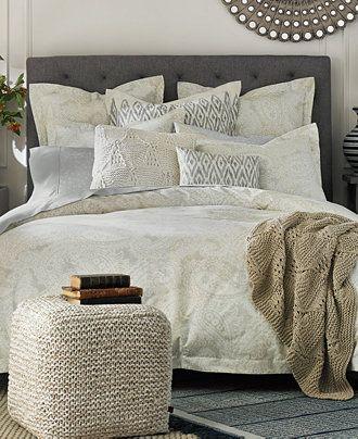 Tommy Hilfiger Mission Paisley Collection Bedding Collections Bed Bath Macy S Paisley Bedding Paisley Duvet Comforter Sets