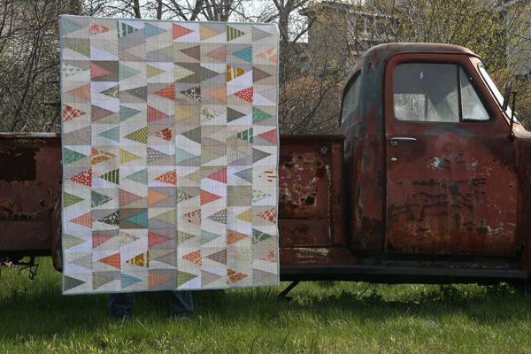 @Ashley 's trailmarker quilt.