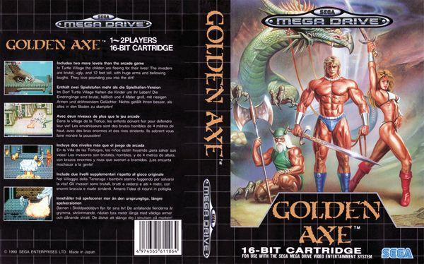 Golden Axe - Art Cover