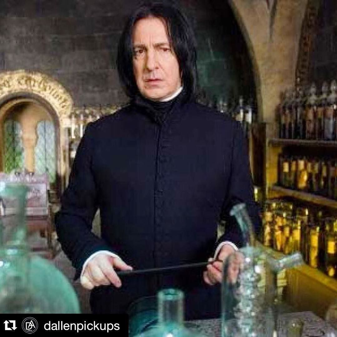 RIP cancer... #galaxyquest was my favorite. #Repost @dallenpickups - thanks for letting us know. he says: RIP actor Alan Rickman who passed away from cancer. #cancerkills #cancerawareness #alanrickman #professorsnape #art #melbookermusic #musicschool #antelopevalley by melbookermusic