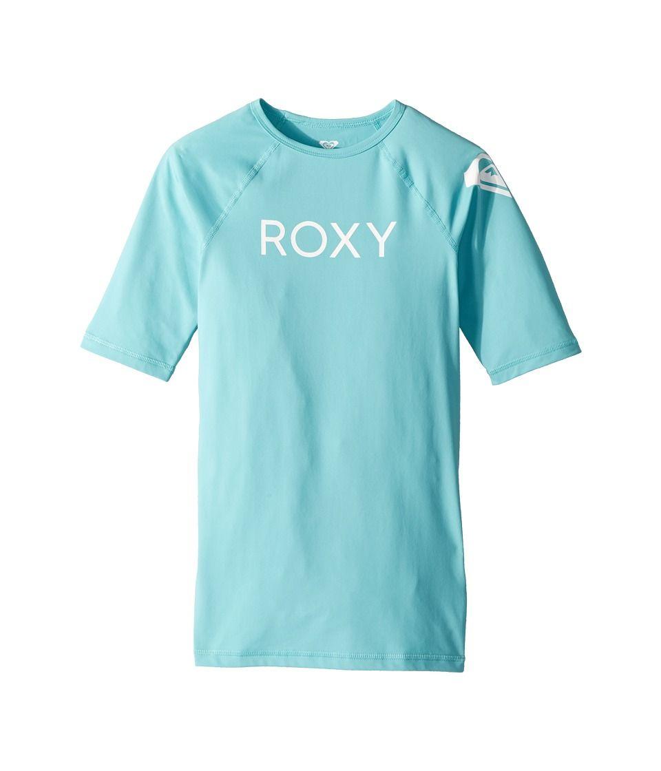 Roxy Big Girls Funny Waves Short Sleeve Rashguard