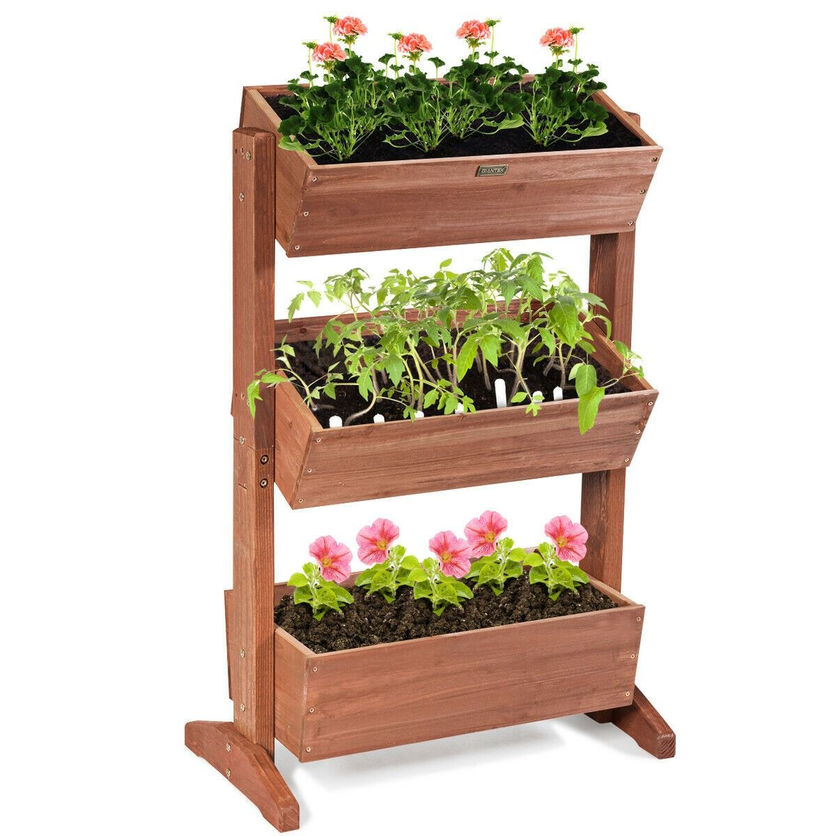 3 Tier Raised Garden Bed Vertical Freestanding Elevated Planter Raised Garden Beds Vegetable Garden Raised Beds Garden Beds