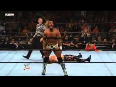 Seth Rollins Finisher Enzuigiri & Shiranui on Heath Slater