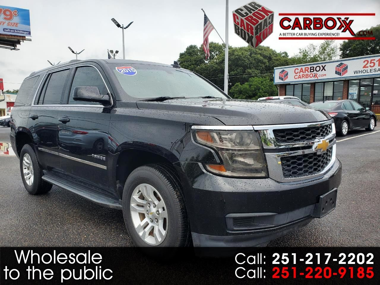 2015 Chevrolet Tahoe 2wd 4dr Ls Chevrolet Tahoe Chevrolet Used Trucks For Sale