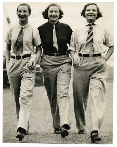 Post War Fashion Today 40s Fashion: Androgyny Was Popular In The 1940s. Since Sources Were