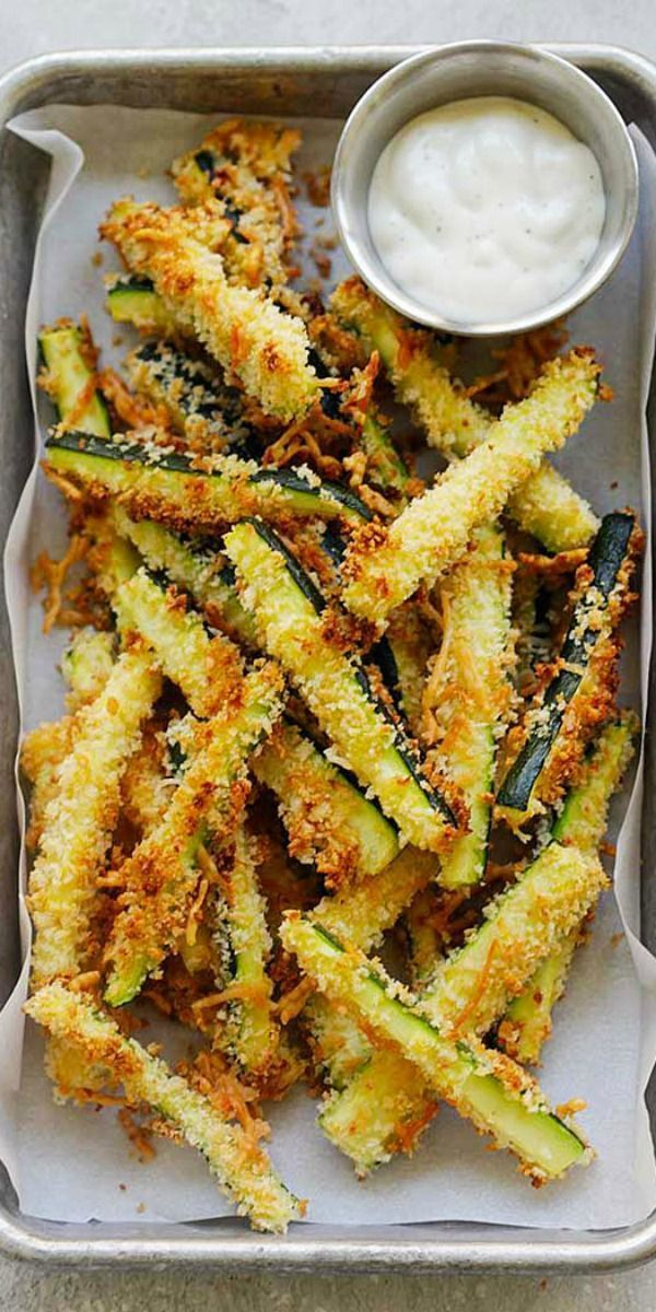 Baked Parmesan Zucchini Recipe - Tiffanie