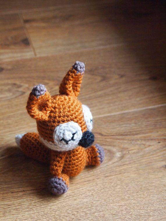 El zorro dormido... patrón amigurimi... | DIY Amigurimis: Animales I ...