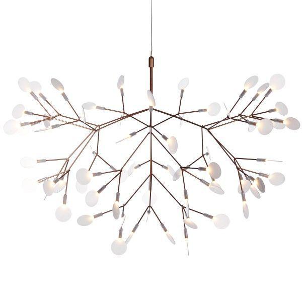 Moooi Heracleum II hanglamp LED. Een lichtspektakel voor boven de ...