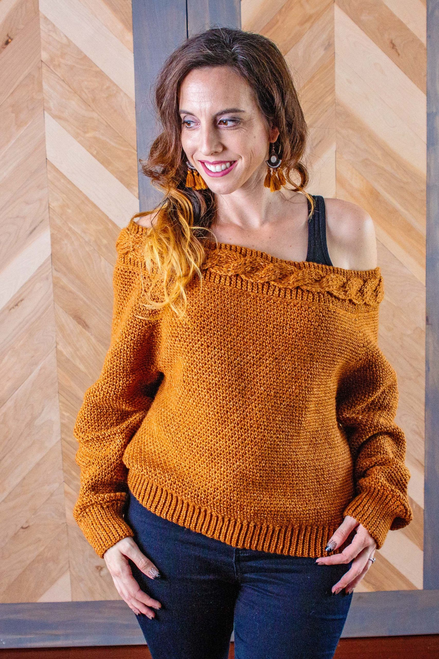 Valencia Infinity Cable Sweater Cable Sweater Pattern Crochet Sweater Cable Sweater