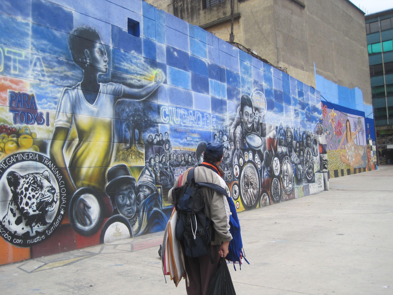 Graffiti calle 10ma