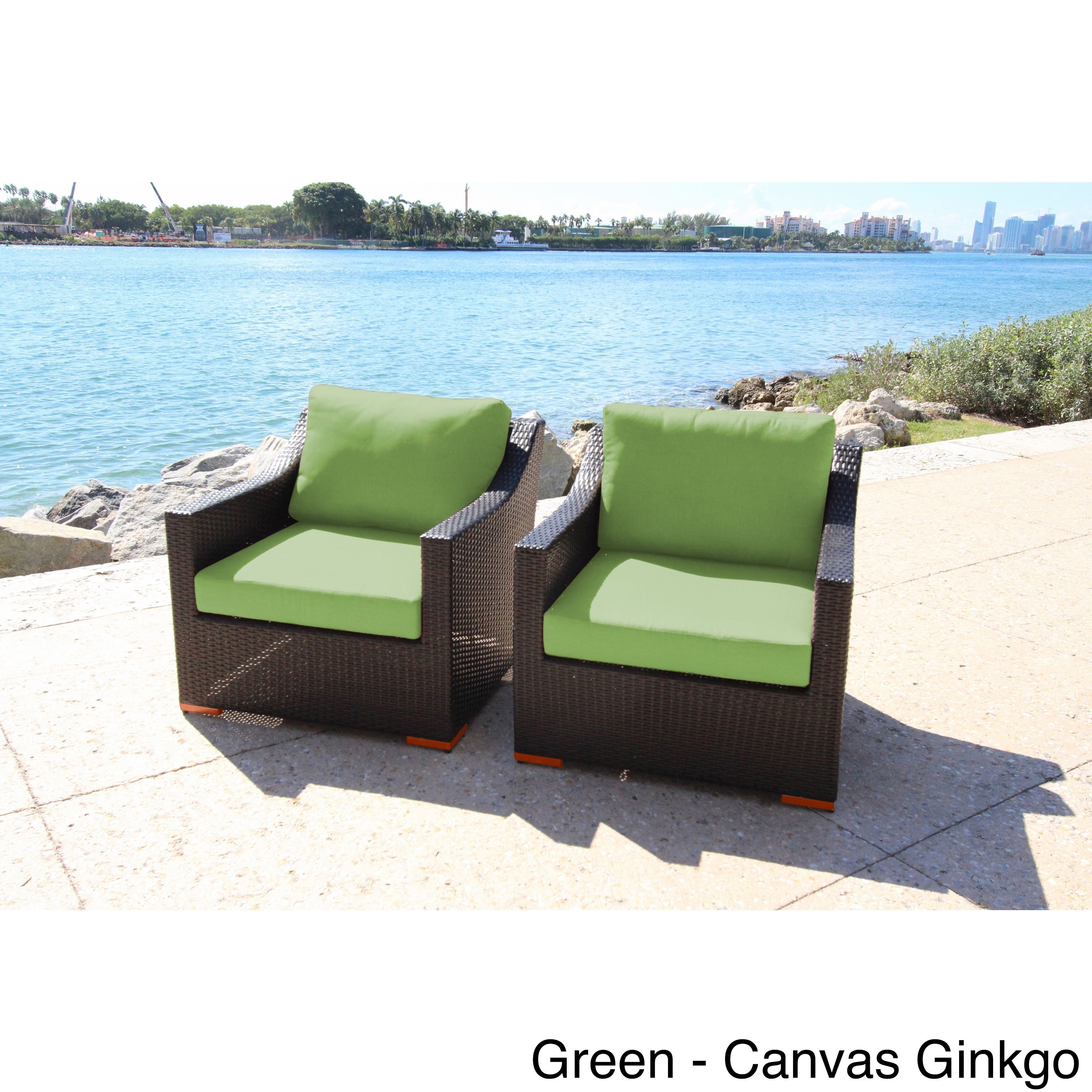 bellini home and garden anne deep seating club chairs set with