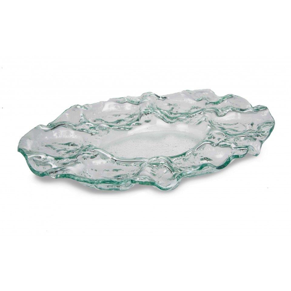 Large Decorative Serving Trays Unique Pitsea Glass Traylarge Decorative Hand Made Glass Serving Dish 2018