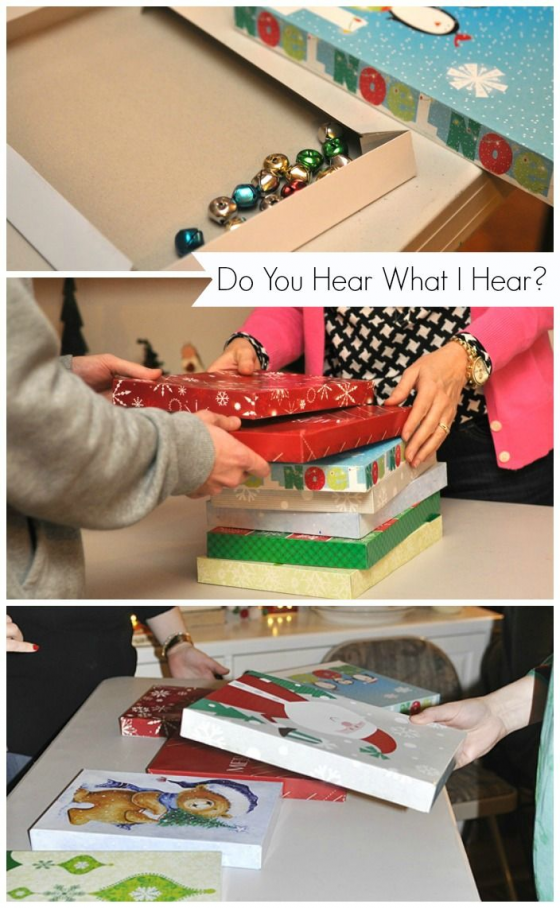 Do You Hear What I hear - Even more FUN Christmas Minute to Win it Party Games for the holidays! #christmasparty #christmas #party #games