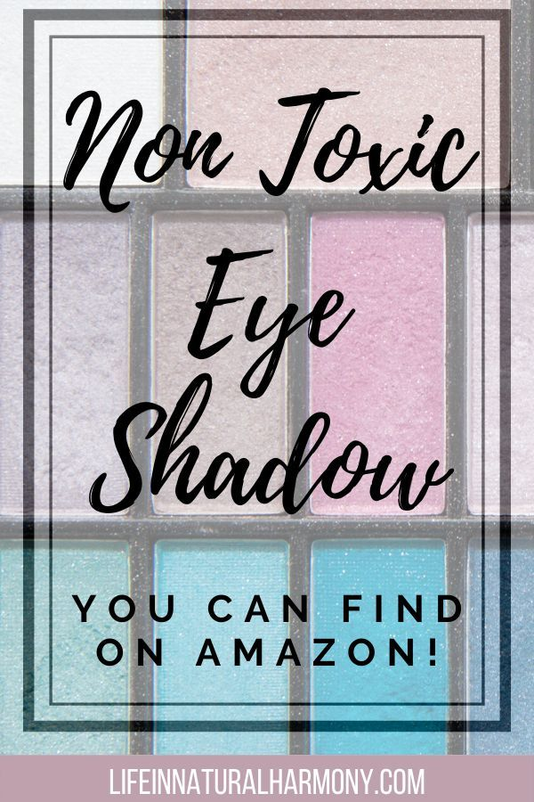 Non Toxic Eyeshadow EWG Verified Eyeshadows on Amazon