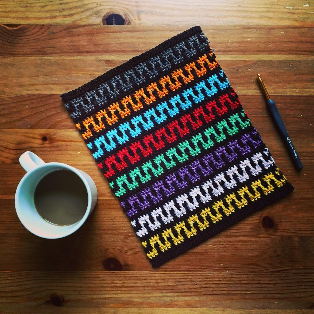A short introduction: Mosaic Crochet   Crochet tapestry ...
