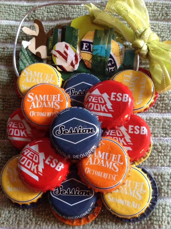Beer bottle cap Easter Basket Ornament by kriswitman on Etsy, $8.00