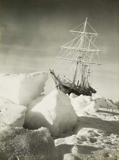 The return of the sun after 92 days. After the darkness of the Antarctic winter, the return of the sun was a major event in 1915.