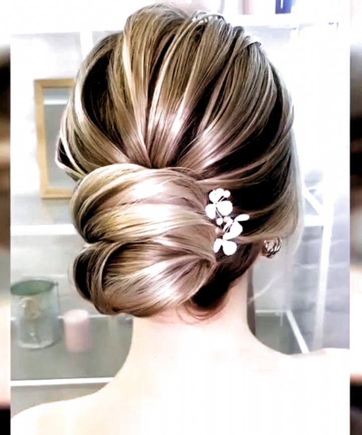 hairbun #long hair style | long hair styles, wedding hair