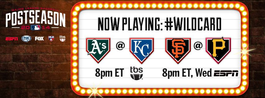 First wildcard game is tonight! Who will be watching