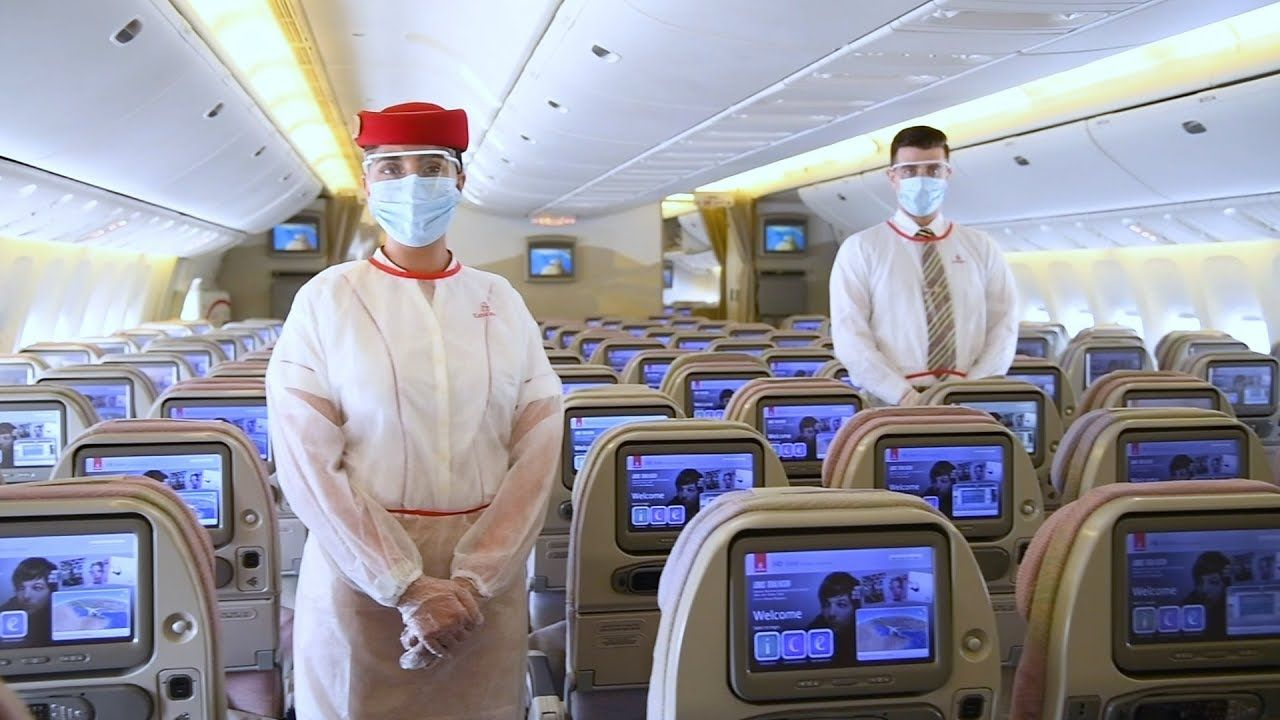 Emirates sets industryleading safety and hygiene