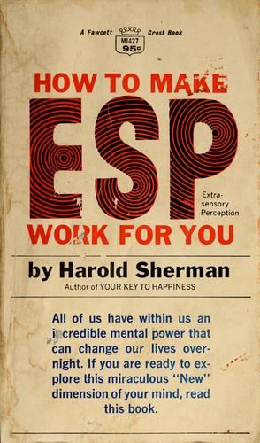 the title pretty much explains it harold sherman presents his rh pinterest com